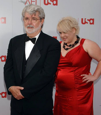 George  Walton Lucas and daughter Katie