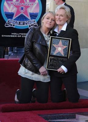 Glenn  Close and daughter Starke