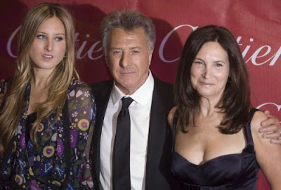 Dustin  Hoffman and daughter Alexandra