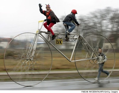 Funny And Bizarre Bicycles