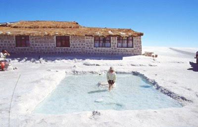 Salt Hotel in Bolivia Seen On CoolPictureGallery.blogspot.com Or www.CoolPictureGallery.com