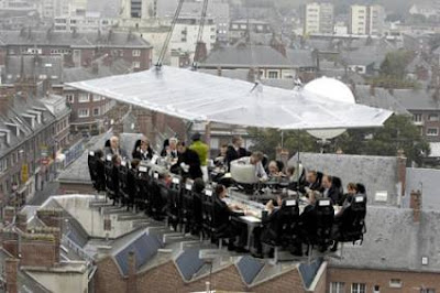Restaurant in the Sky (Belgium)