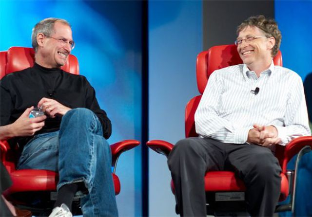 Some Humor from Bill Gates and Steve Jobs