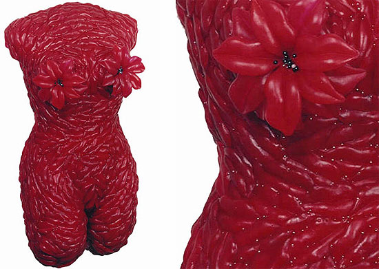 Female Torsos Made Out Of Unusual Materials Damn Cool