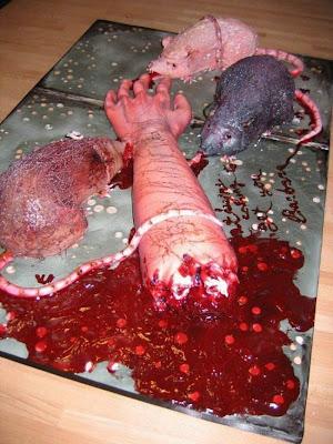 Kue berbentuk organ tubuh manusia