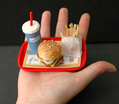 The worlds smallest and cutest combo meal