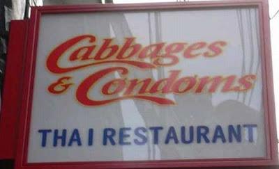 Strange restaurant