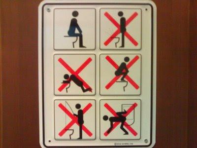 Funny toilet humour