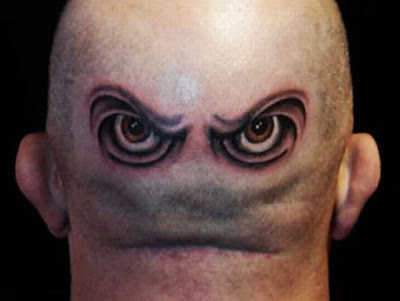 I've collected the most unusual, strangest and craziest tattoos.