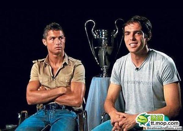 cristiano ronaldo body transformation. Cristiano Ronaldo and Kaka,