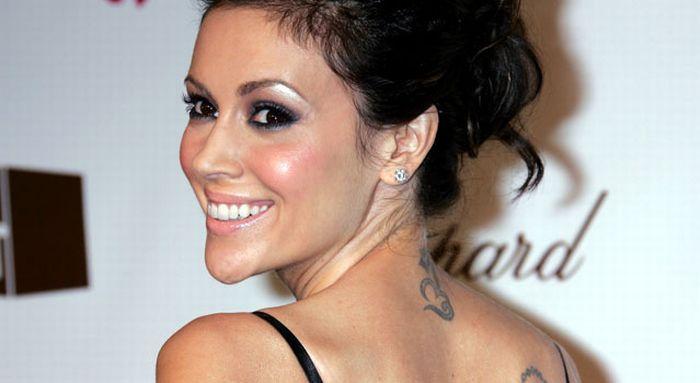 alyssa milano tattoo. Alyssa Milano