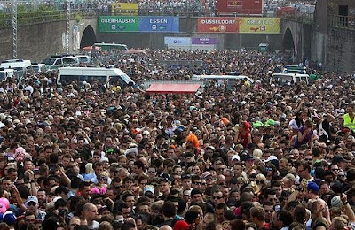 Mass Panic at German Music Festival Seen On  www.coolpicturegallery.net