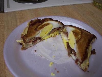 Epic Sandwich for Breakfast Seen On www.coolpicturegallery.net