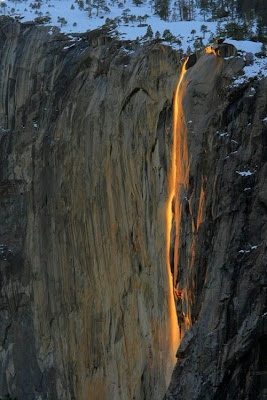 Horsetail Fall Seen On www.coolpicturegallery.net
