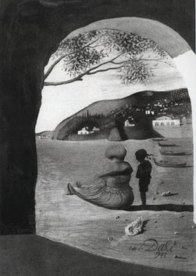 Optical Illusions in Salvador Dali's Paintings Seen On  www.coolpicturegallery.net