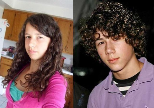 Nick Jonas And Taylor Lautner Female Lookalikes