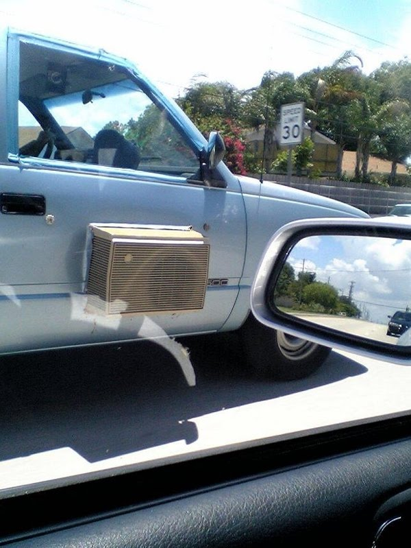 My Funny Super Cheap Air Condition For Car Pictures