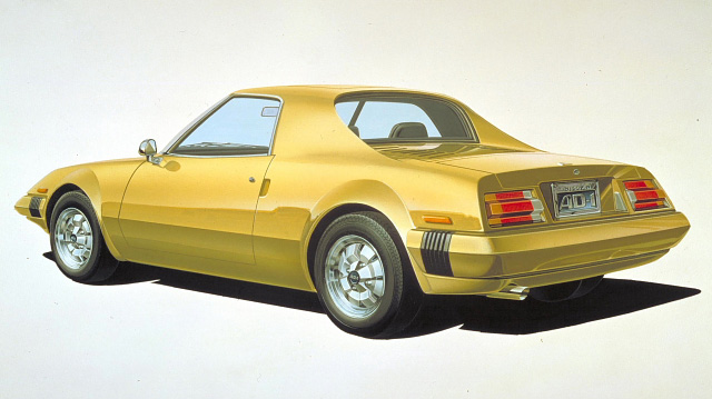 2004 Ford Thunderbird Fab 1 Concept. Nissan AD-1 Concept, 1975