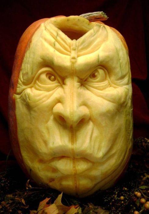 Incredible pumpkin carvings damn cool pictures