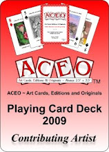 ACEO Playing Card Deck 2009