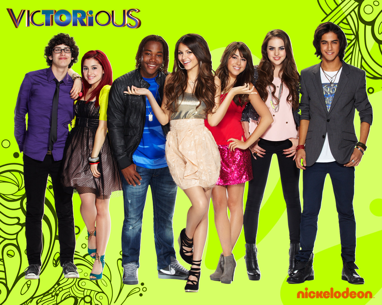 ... , iCarly, Tori, Cat, Jade, Beck: Más wallpapers de Victorious