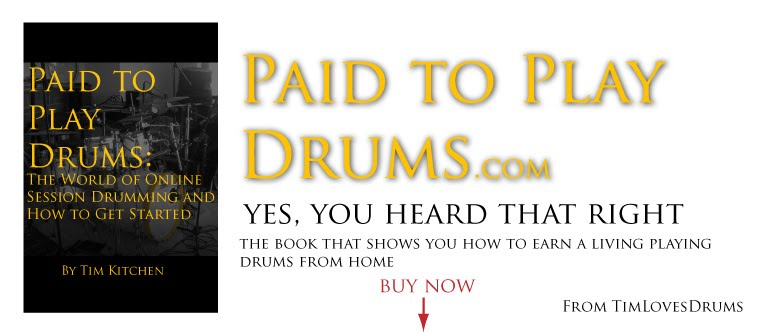 Paid to Play Drums