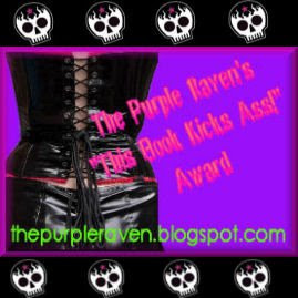 THE PURPLE RAVEN'S AWARD
