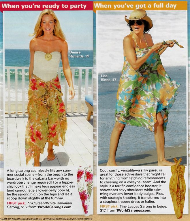 1 world sarongs featured in