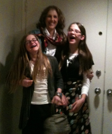 My Triplet Teen Girls & I Have a Good Laugh Before Going to a Fashion Show ...