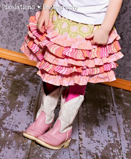Ruffle Skirt Pattern