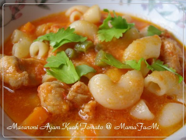 macaroni with chicken in tomato soup ingredients 1 kg chicken fillet ...