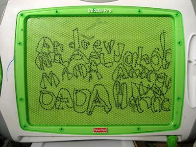 board toys, bubble letters