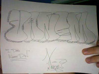 Sketch Bubble Letters 2