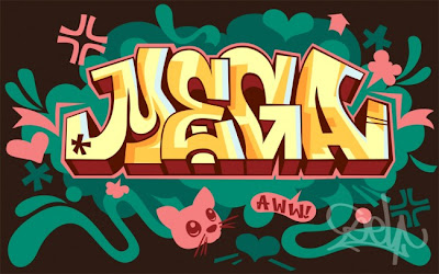 Modern graffiti letters14