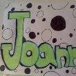3D, graffiti bubble letters
