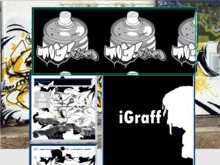 graffiti alphabets, 3D