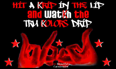 blood gangsters, blood piru knowledge