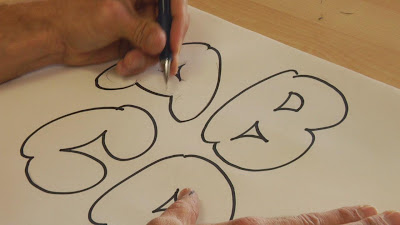 learn graffiti bubble letters