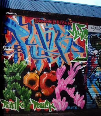 punk, rock, graffiti alphabets