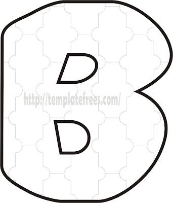 Large Printable Bubble Letters 01