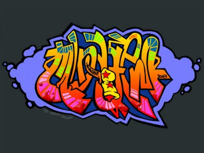 Free Graffiti Alphabet2