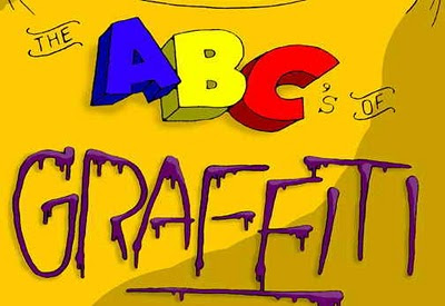 The Alphabet In Graffiti Form1