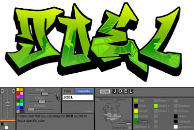 Graffiti Name Creator 20102