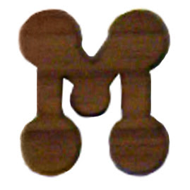 3Bubble Letters M In The Year 2011