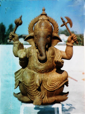 Perform of the Idol before fixing Shivlingi seeds