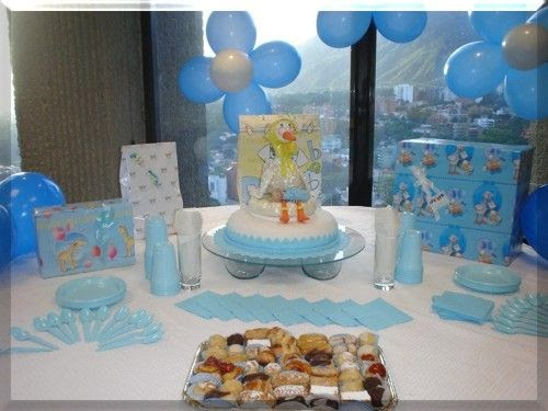 Nuestros bebes decoraci n para tu baby shower for Decoracion para baby shower en casa