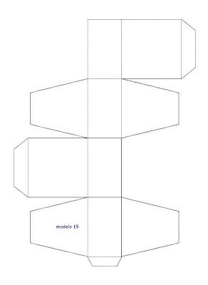 Download Search Results For Moldes De Cajas De Carton Para Cotillones