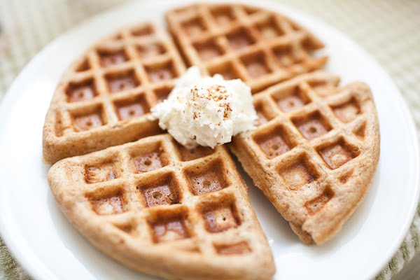 The Urban Pantry: Whole Wheat Waffles