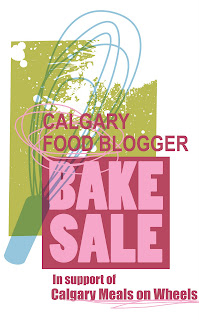 Calgary Food Blogger Bake Sale