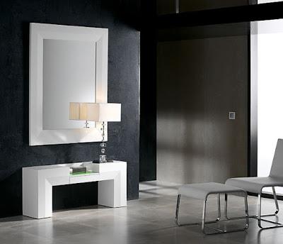 Muebles de dise o por la decoradora experta marzo 2010 - Muebles recibidores de diseno ...